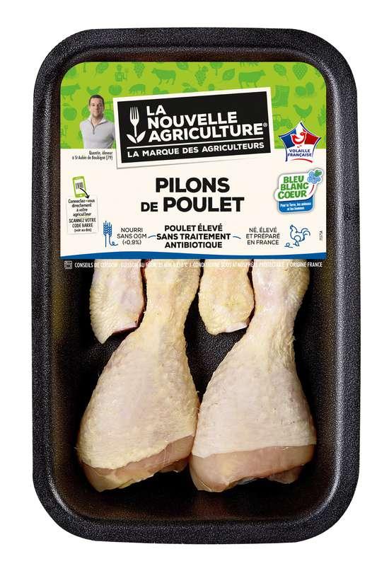 Pilons de poulet, La Nouvelle Agriculture (x 4, 400 g)