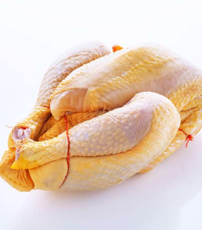 Poulet jaune fermier (1.4 à 1.5 Kg)