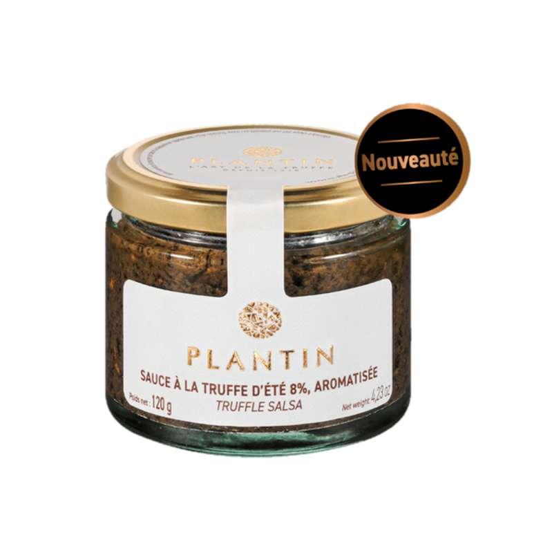 Sauce à la truffe d'été 8% aromatisée, Plantin (120 g)