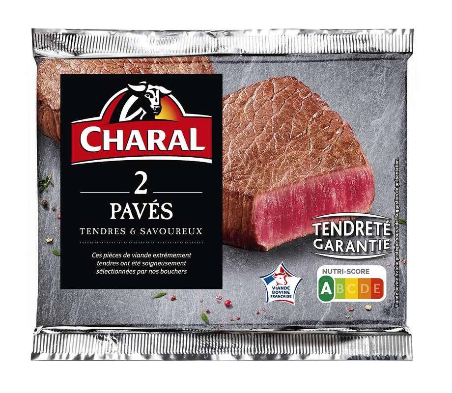 Pavé, Charal (x 2, 280 g)
