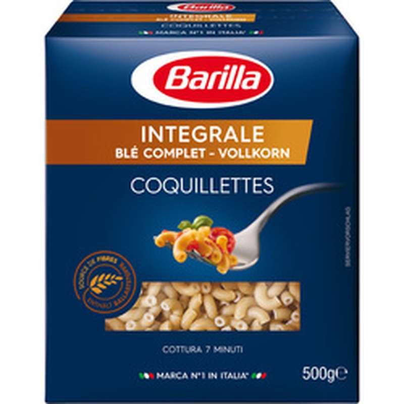 Coquillettes au blé complet, Barilla (500 g)