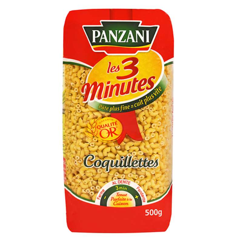 Coquillettes 3 minutes, Panzani (500 g)