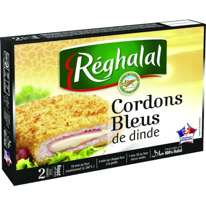 Cordon bleu de dinde Halal, Reghalal (x 2, 200 g)