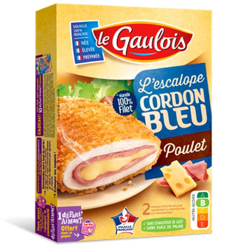 Cordon bleu de poulet, Le Gaulois (x 2, 200 g)