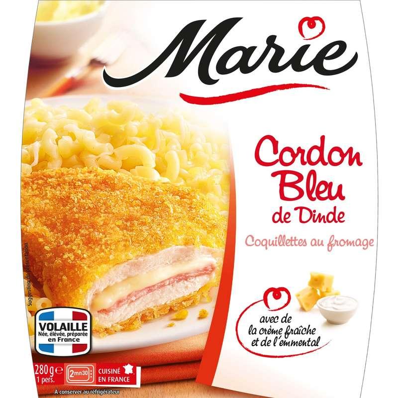 Cordon bleu coquillette au fromage, Marie Frais (280 g)