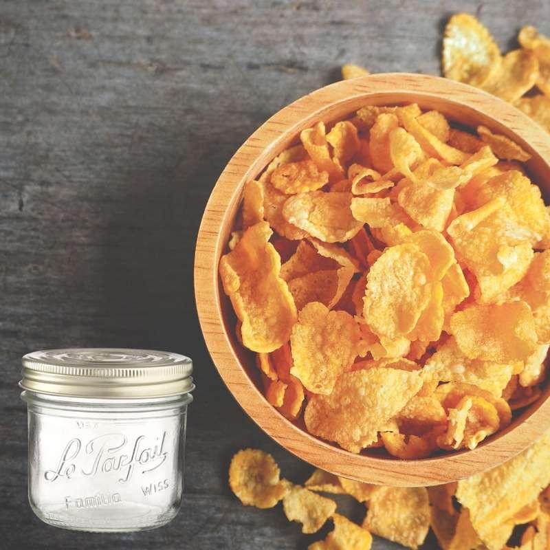Cornflakes natures sans sucre BIO bocal consigné / 2,5€ récupérable (320 g)