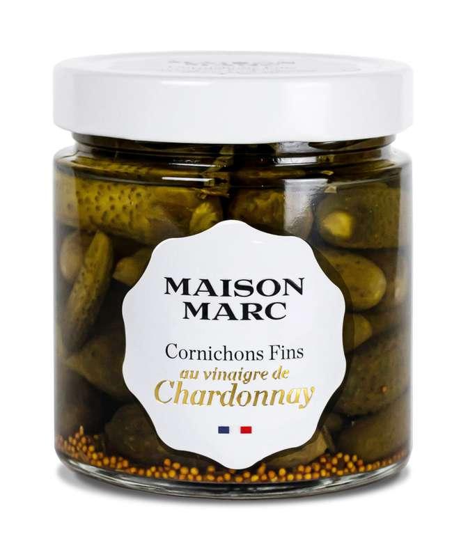 Cornichons fins au vinaigre de Chardonnay, Maison Marc (210 g)