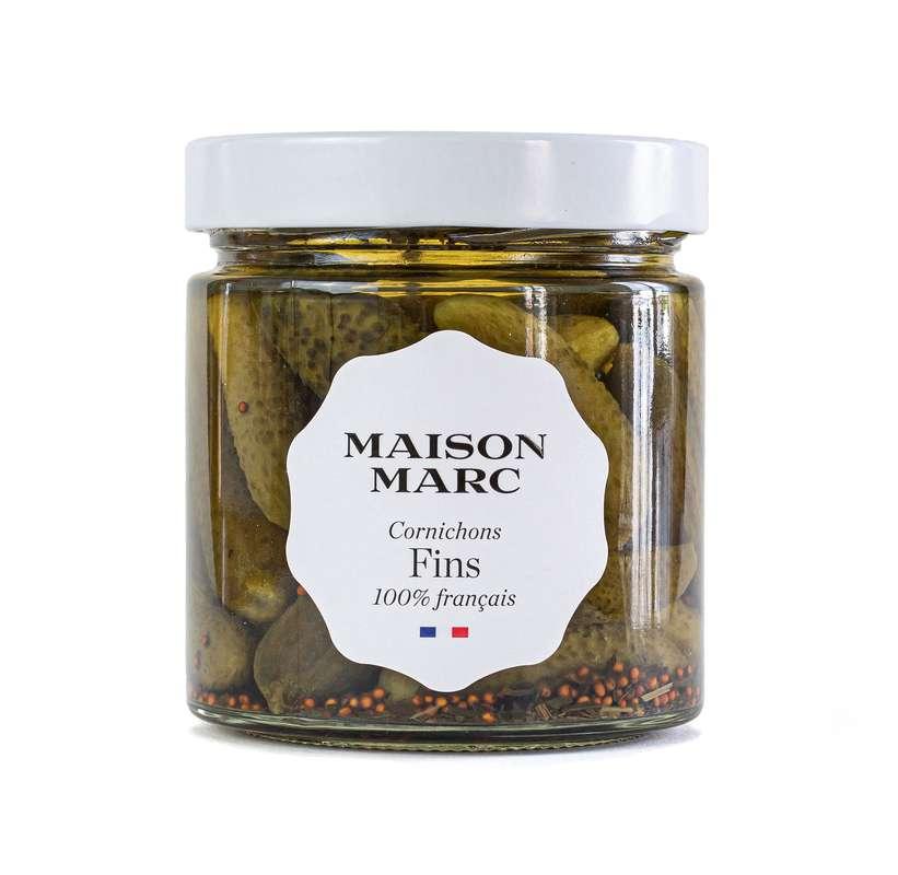 Cornichons fins, Maison Marc (210 g)