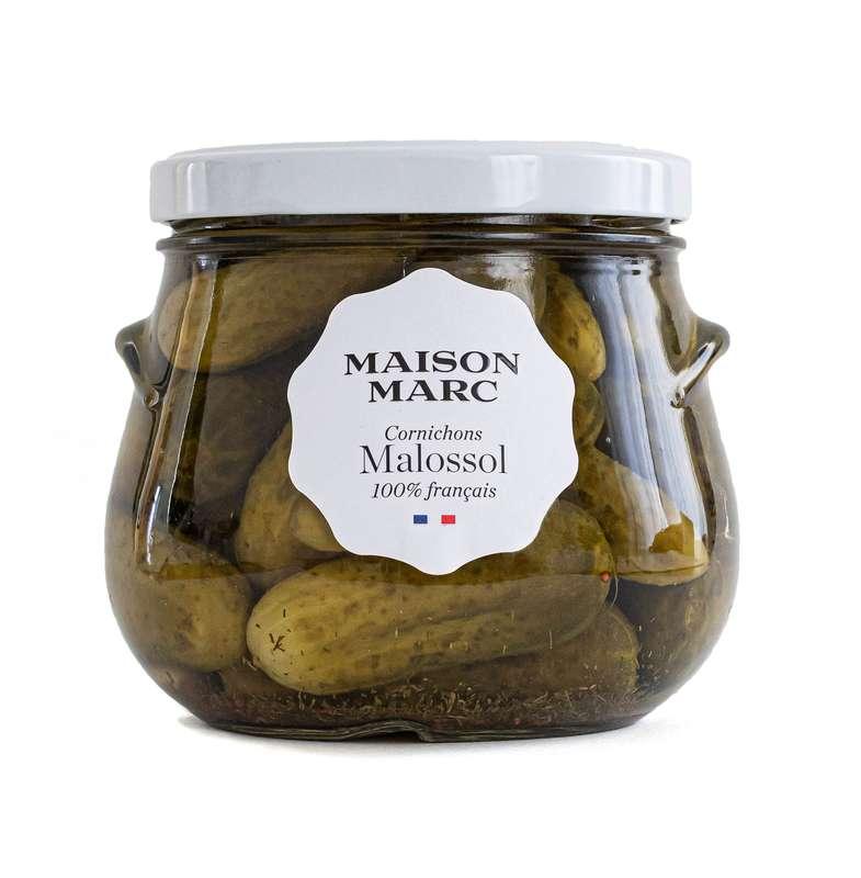 Cornichons Malossol, Maison Marc (440 g)
