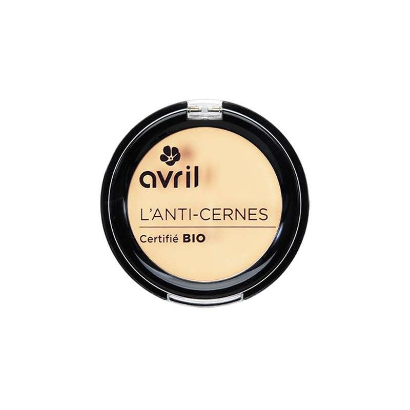 Anti-cernes ivoire certifié BIO, Avril (2,5 g)