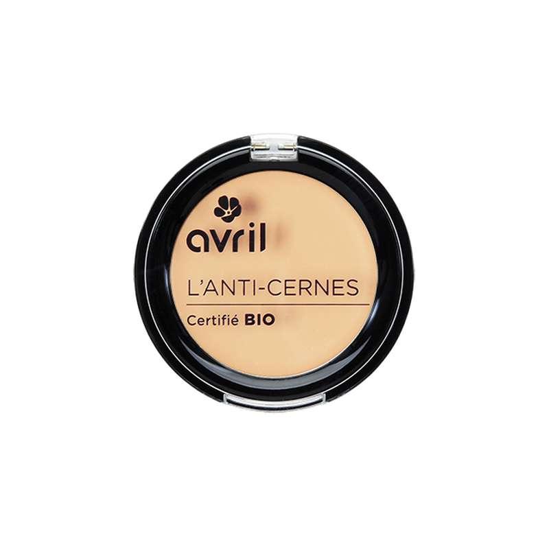 Anti-cernes porcelaine certifié BIO, Avril (2,5 g)