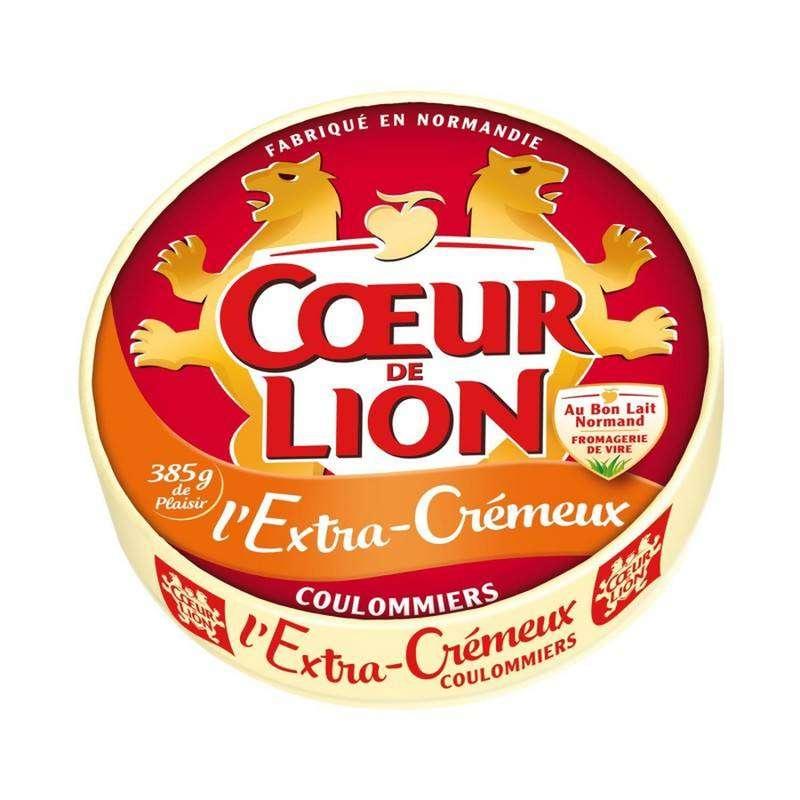 Coulommiers L'extra Crémeux, Coeur de Lion (385 g)