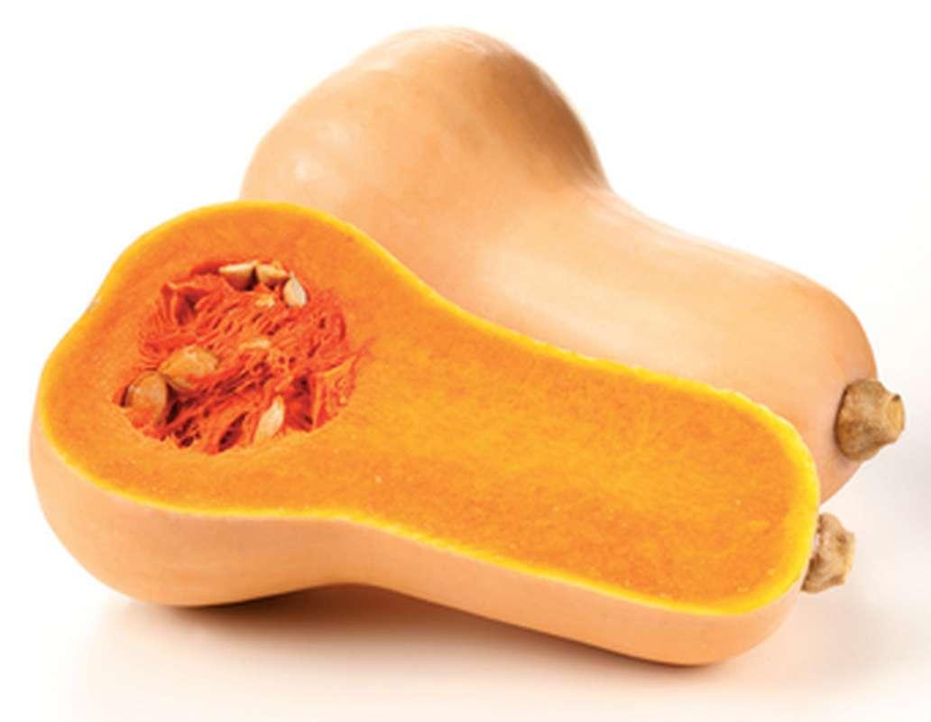 Courge Butternut, noix de beurre BIO (1.2 à 1.6 kg) (calibre moyen), France