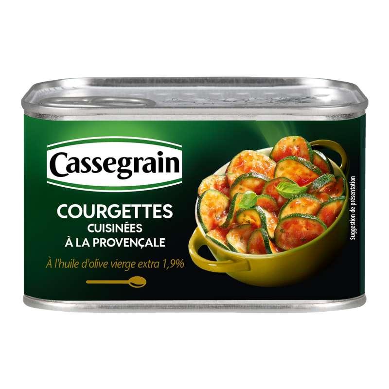 Courgettes à la provençale, Cassegrain (375 g)