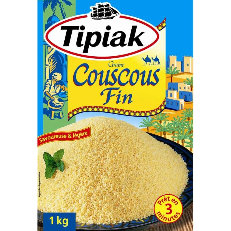 Couscous fin prêt en 3 minutes, Tipiak (1 kg)