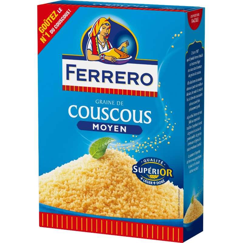 Couscous grains moyens, Ferrero (500 g)