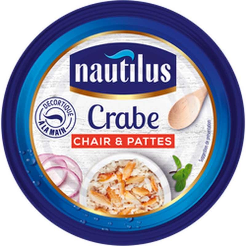 Crabe chair et pattes, Nautilus (105 g)