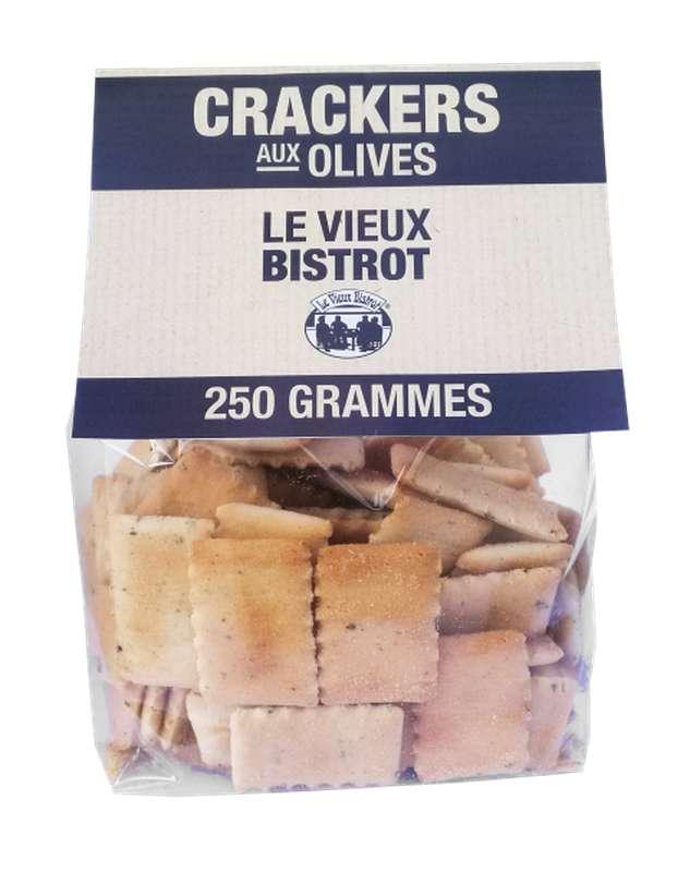 Crackers aux olives, Le Vieux Bistrot (250 g)