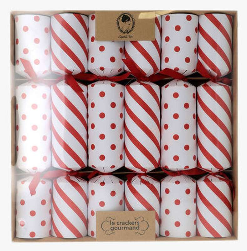 Crackers gourmands Rouge & Blanc, Sophie M (x 6, 60 g)