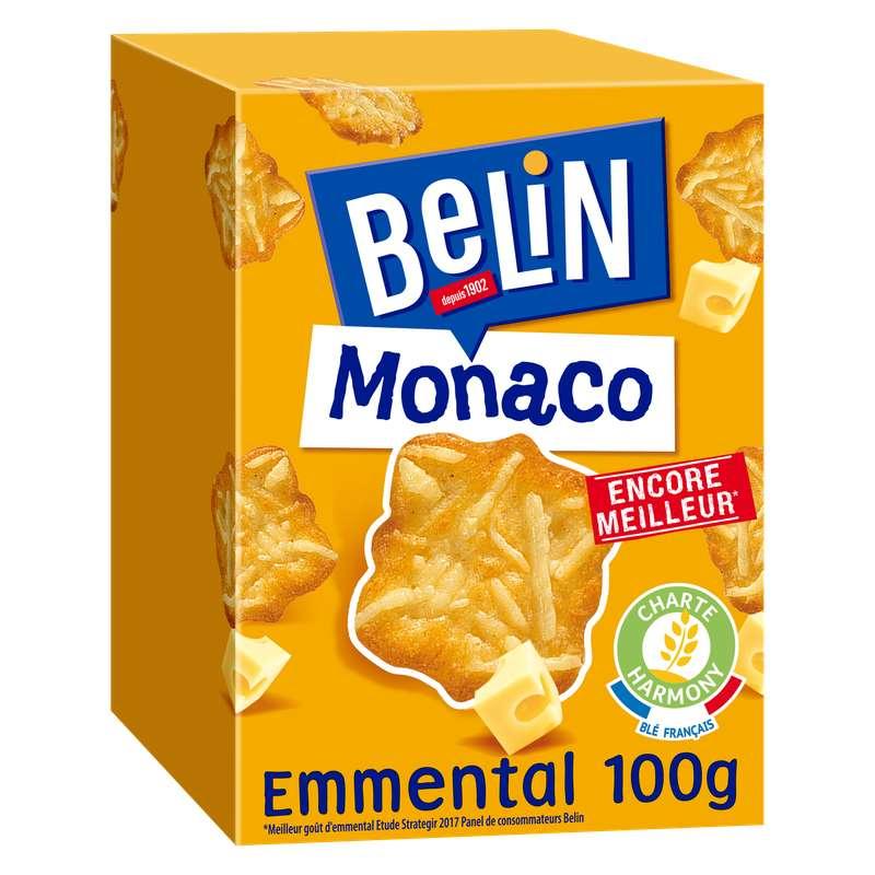 Crackers Monaco Emmental, Belin (100 g)