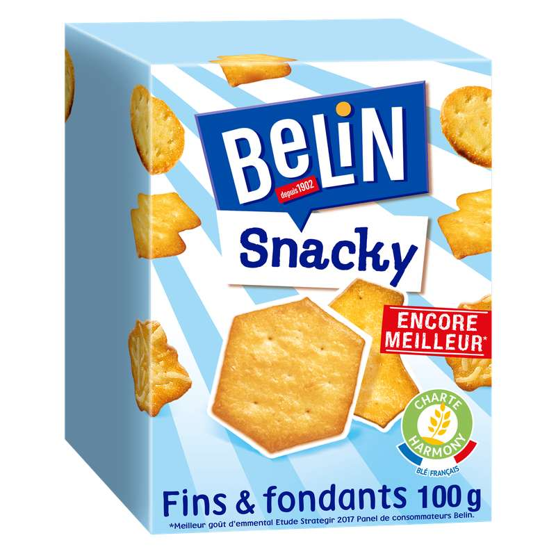 Crackers Snacky, Belin (100 g)