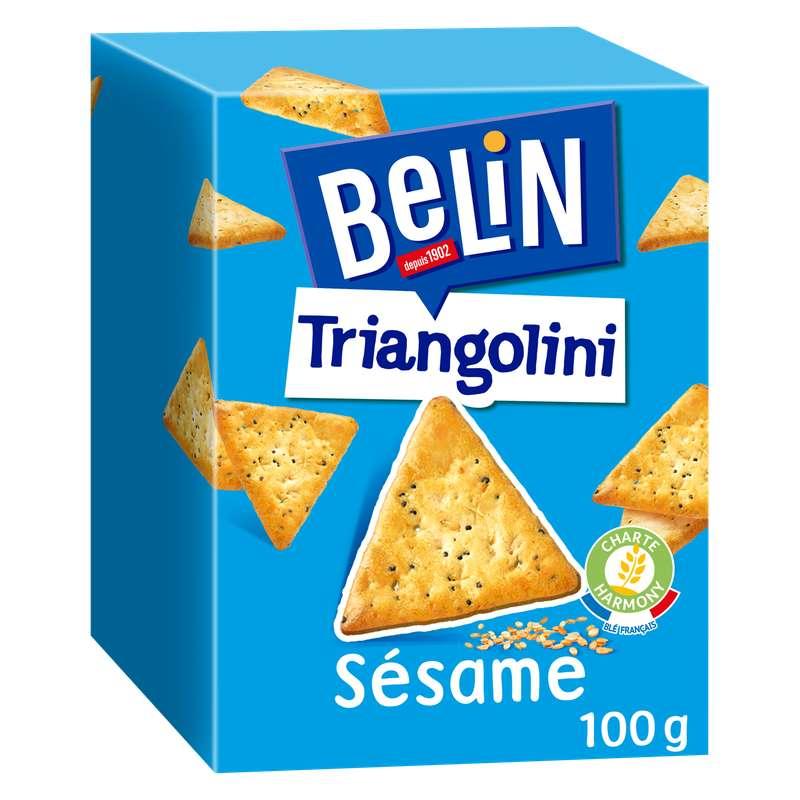 Crackers Triangolini au sésame, Belin (100 g)