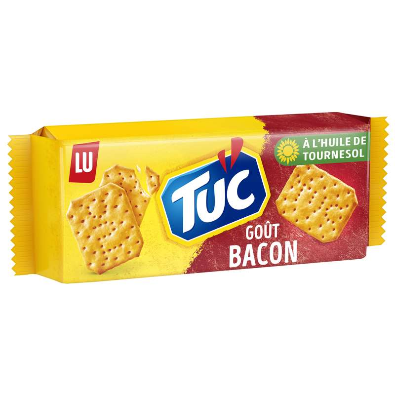 Crackers Tuc au bacon, Lu (100 g)