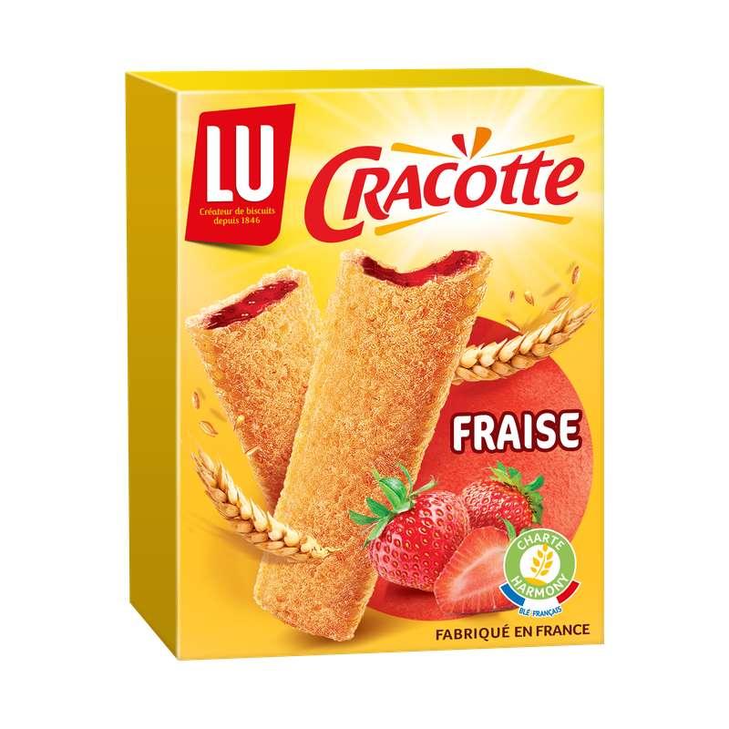 Cracotte à la fraise, Lu (200 g)
