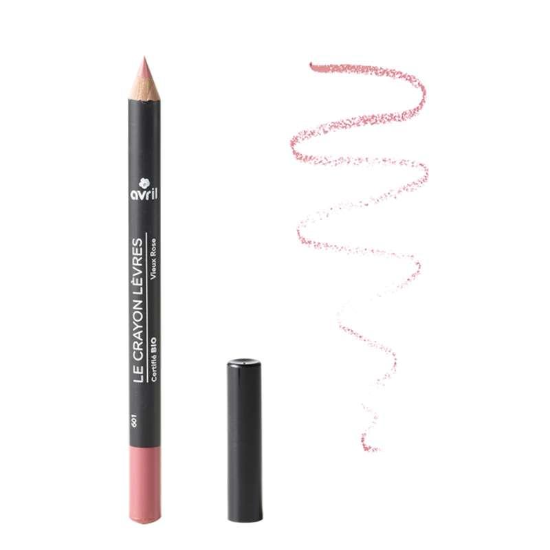 Crayon contour des lèvres vieux rose certifié BIO, Avril (1 g)