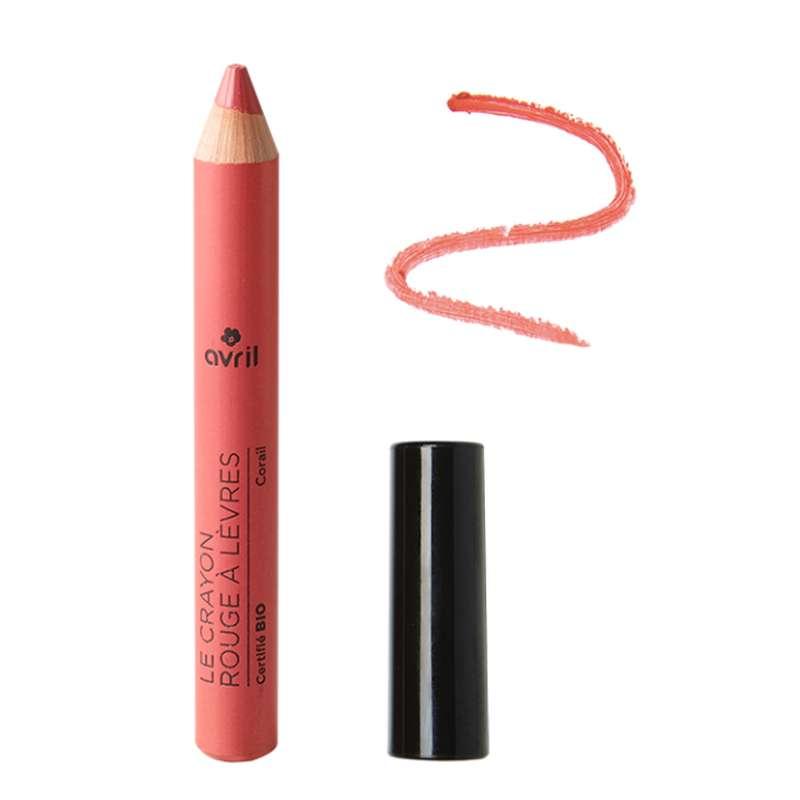 Crayon rouge à lèvres goyave certifié BIO, Avril (2 g)