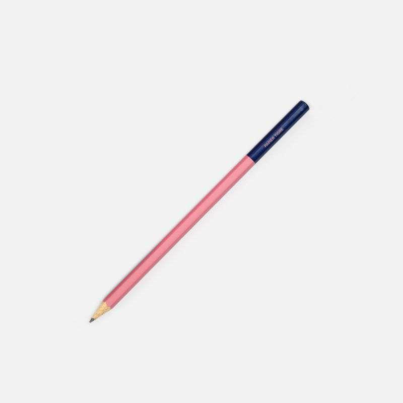 Crayon Rose-Marine, Papier Tigre