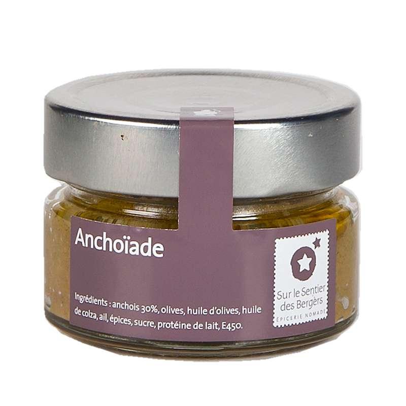 Crème anchoïade, Sur le sentier des bergers (90 g)