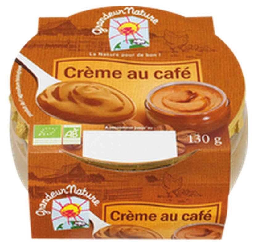 Crème au café BIO, Grandeur Nature (130 g)