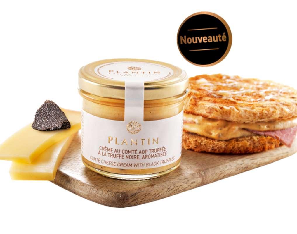 Crème au Comté AOP truffée à la truffe noire aromatisée, Plantin (90 g)