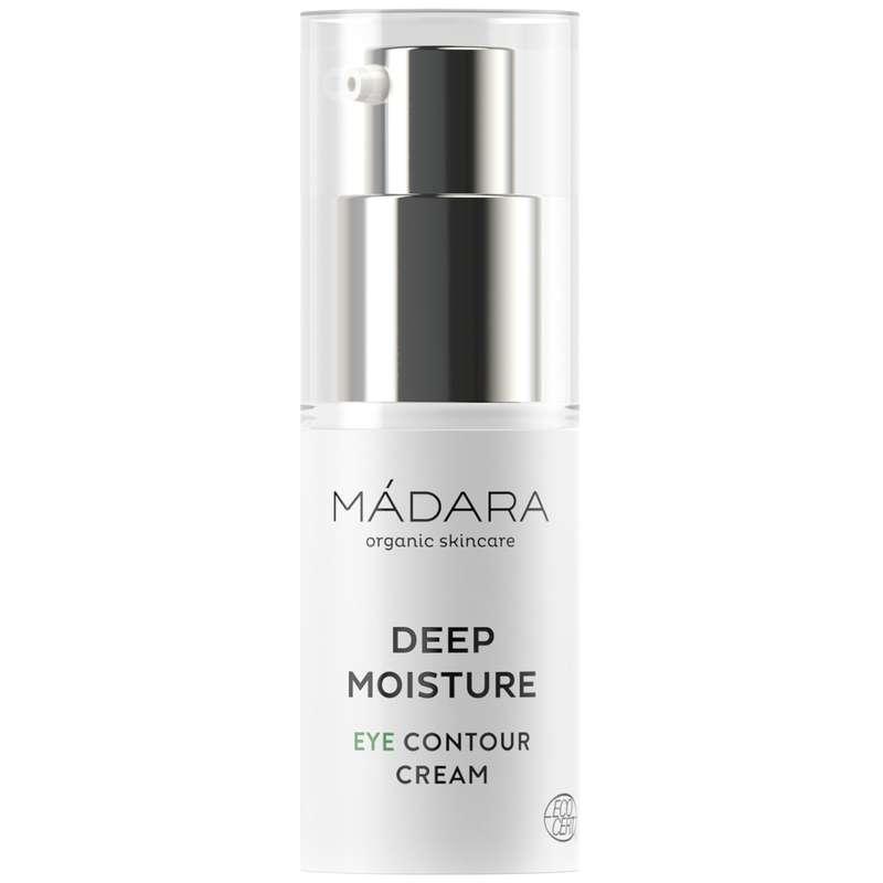 Crème contour des yeux Deep Moisture BIO, Madara (15 ml)
