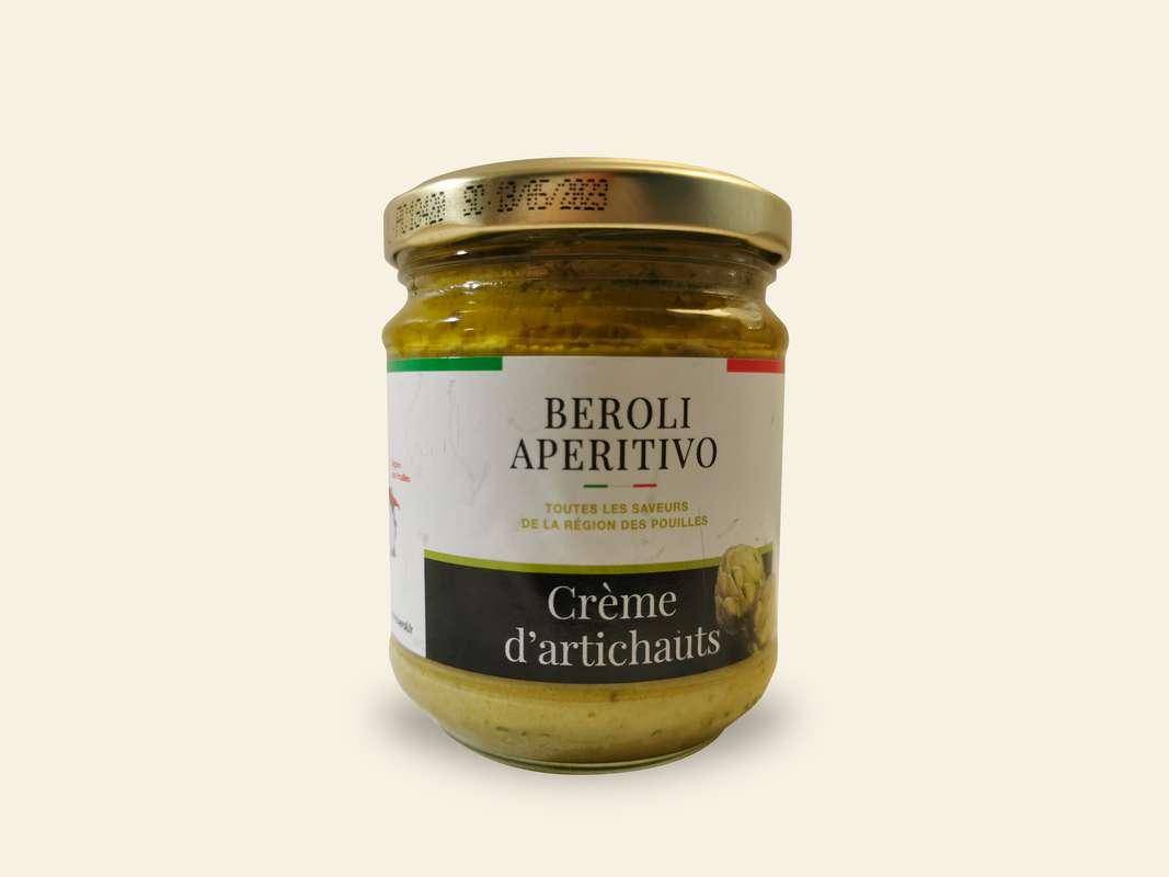 Crème d'artichauts, Beroli Aperitivo (180 g)