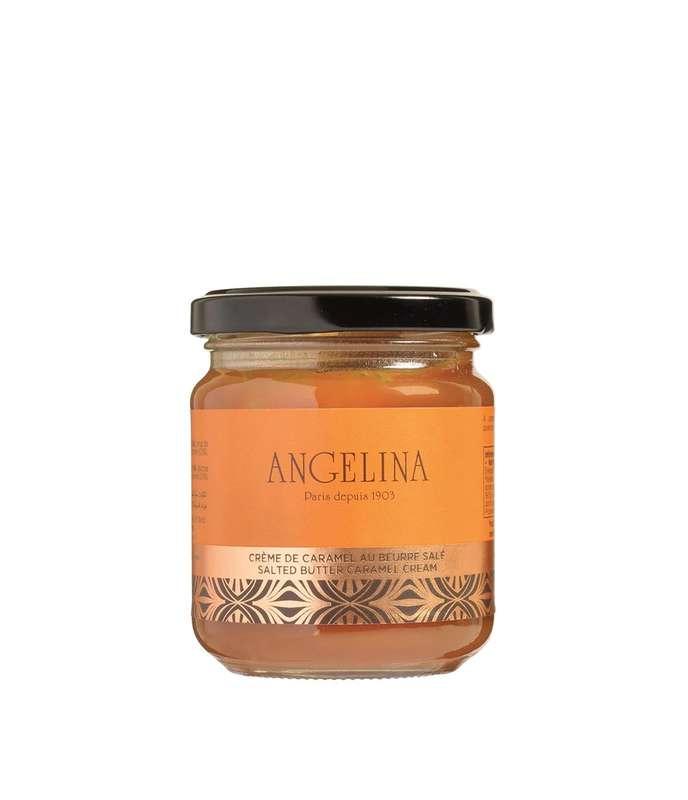 Crème de caramel au beurre salé, Angelina (215 g)