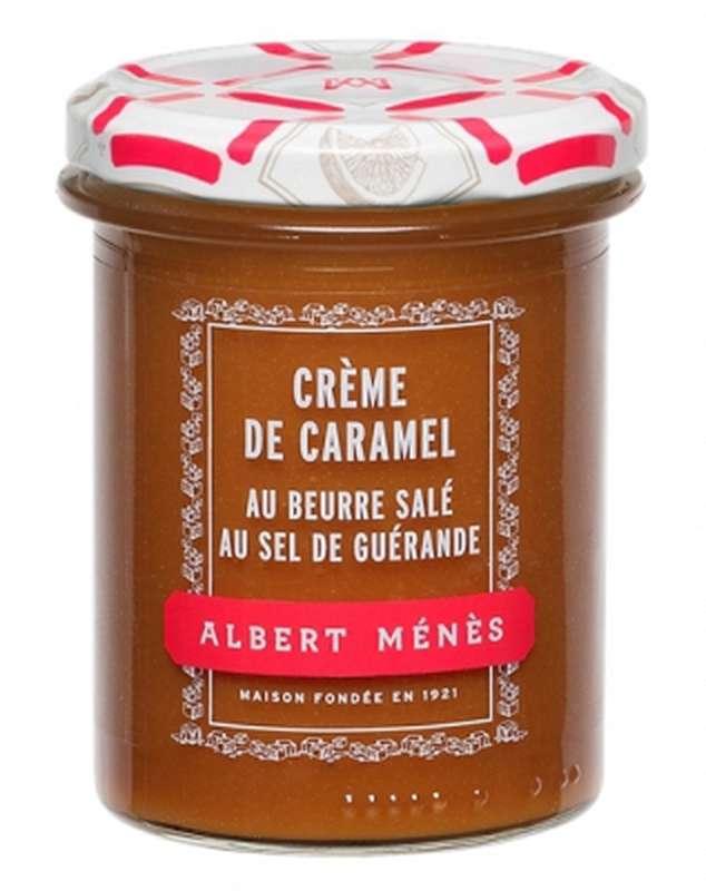 Crème de caramel au beurre salé au Sel de Guérande, Albert Ménès (265 g)