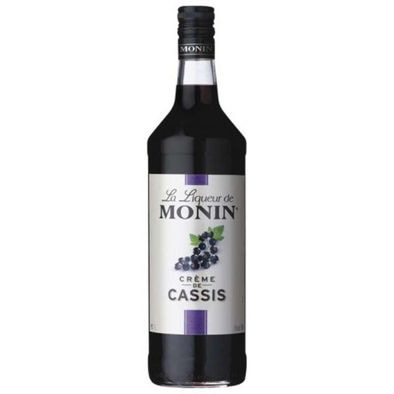 Crème de Cassis 16°, Monin (1 L)