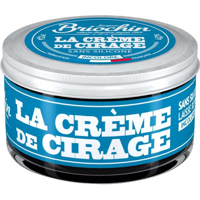 La crème de cirage incolore sans silicone, Briochin (50 ml)