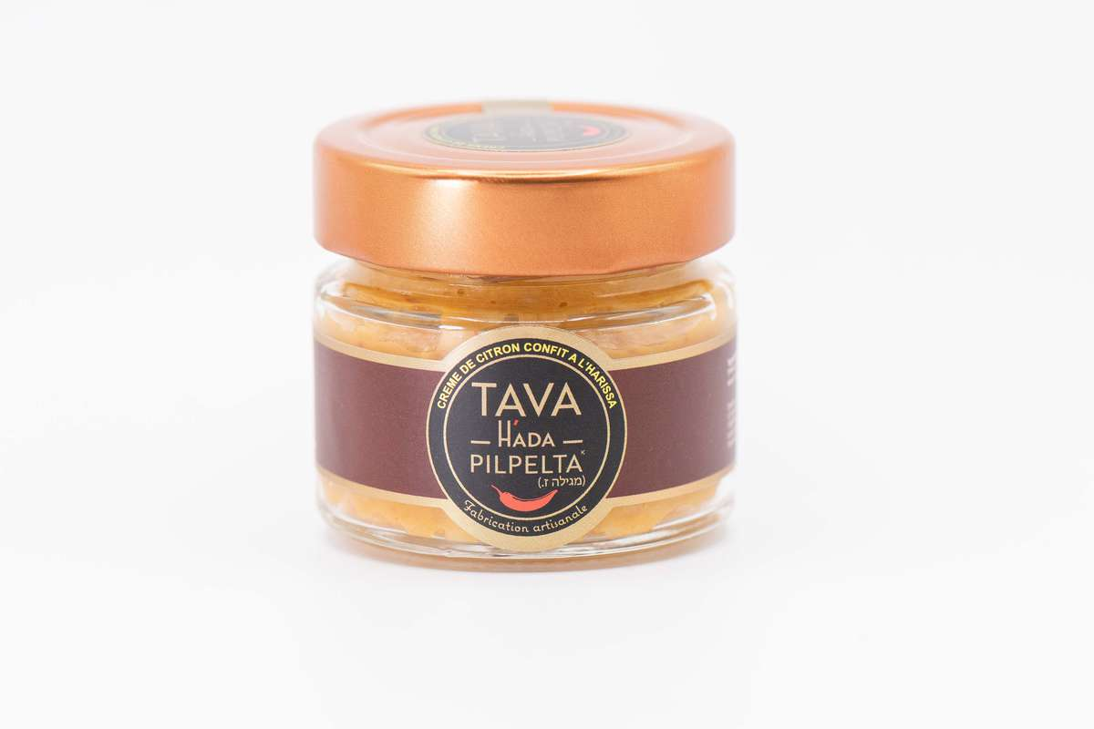 Crème de citron confit à la Harissa, Tava Hada Pilpelta (95 g)