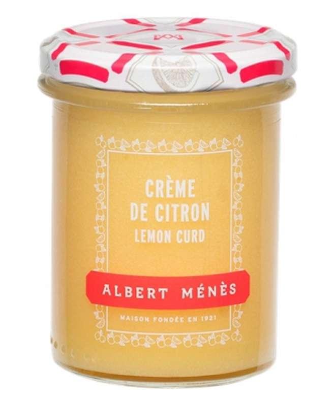 Crème de citron - lemon curd, Albert Ménès (240 ml)