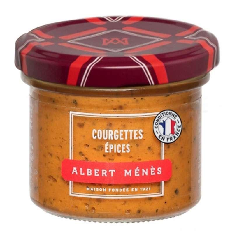 Crème de courgette aux épices, Albert Ménès (100 g)
