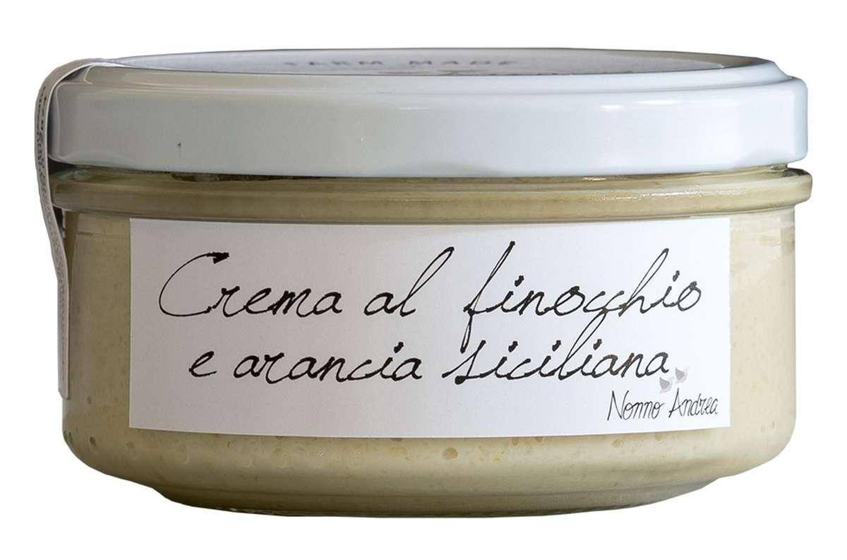 Crème de fenouil et orange sicilienne BIO, Nonno Andrea (150 g)