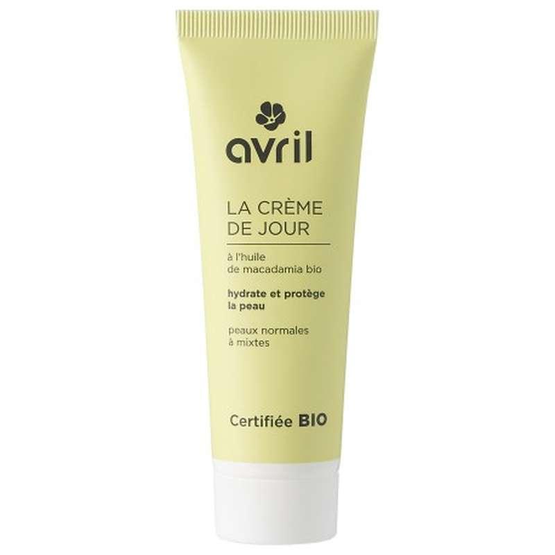 Crème de jour peaux normales et mixtes certifiée BIO, Avril (50 ml)