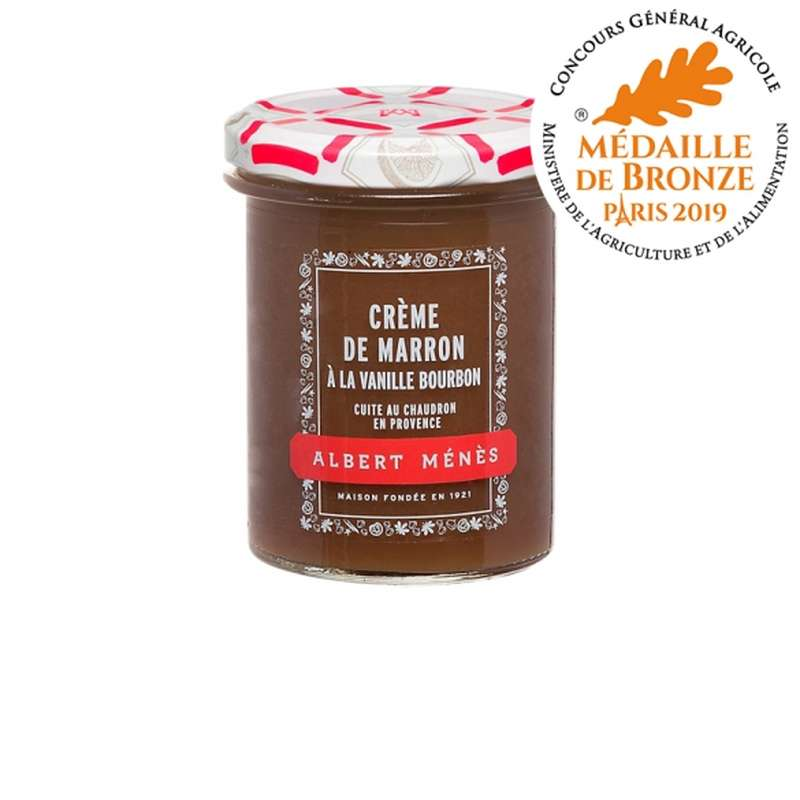 Crème de marron vanillée, Albert Ménès (280 g)