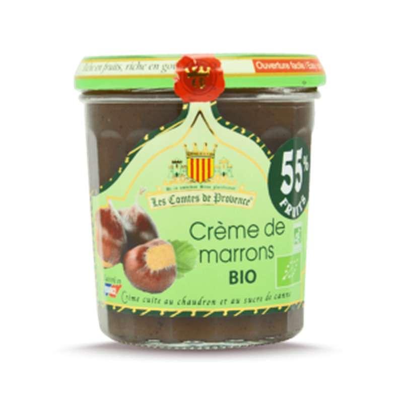 Crème de marrons à l'ancienne BIO, Comtes De Provence (320 g)