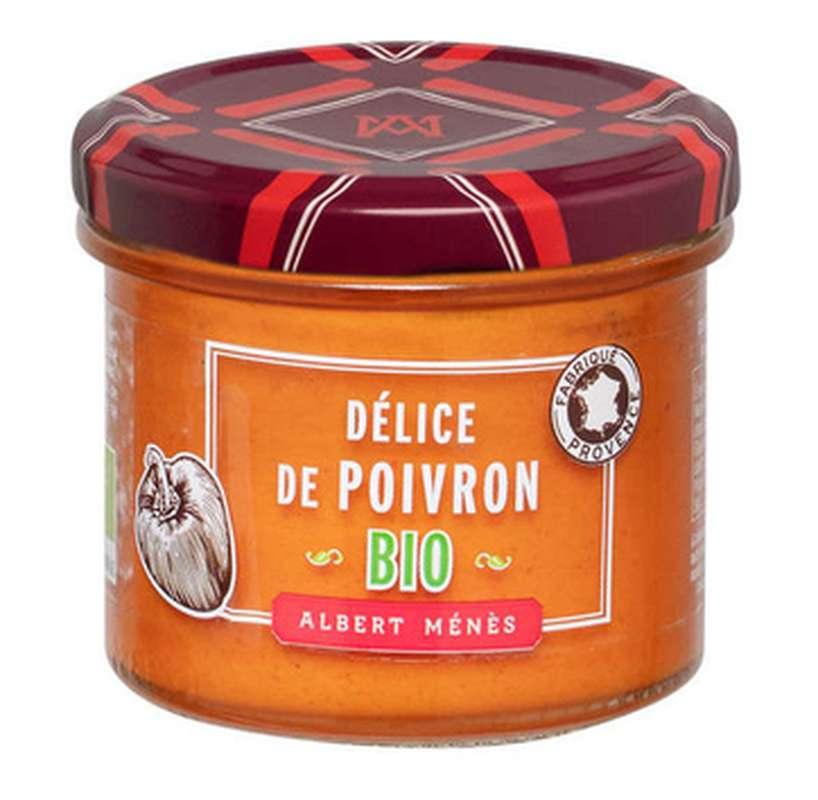 Crème de poivron BIO, Albert Ménès (95 g)