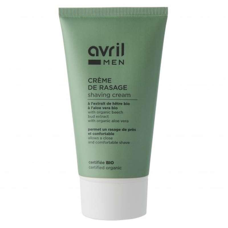 Crème de rasage certifiée BIO, Avril MEN (150 ml)