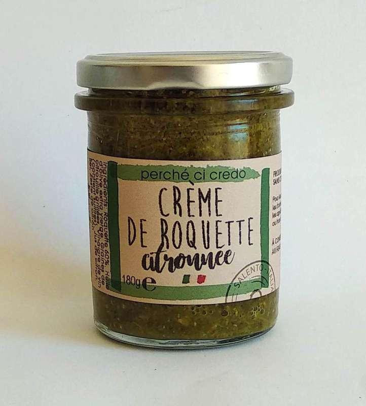 Crème de roquette citronnée, Perche Ci Credo (190 g)
